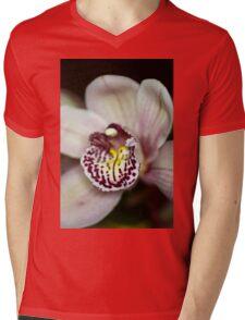 White Orchid  Mens V-Neck T-Shirt