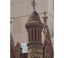 Beehive Corner Photographic Print