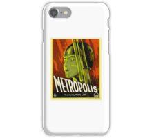 Metropolis - Vintage Sci-Fi Film by Fritz Lang iPhone Case/Skin