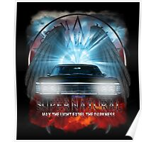 Supernatural May the light expel the darkness Poster