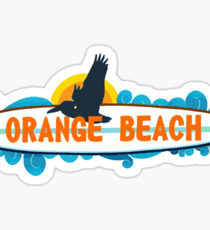 Orange Beach - Alabama. Sticker