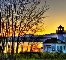 Enchanted Lighthouse ~ Port Townsend, WA ~ HDR Series by lanebrain photography