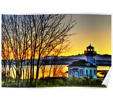 Enchanted Lighthouse ~ Port Townsend, WA ~ HDR Series Poster
