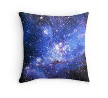 Magellan Nebula [Blue] | Fresh Universe Throw Pillow