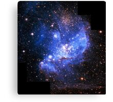 Magellan Nebula [Blue] | Fresh Universe Canvas Print