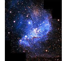 Magellan Nebula [Blue]   Fresh Universe Photographic Print
