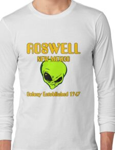 Roswell, New Mexico - Alien Colony Established 1947 Long Sleeve T-Shirt