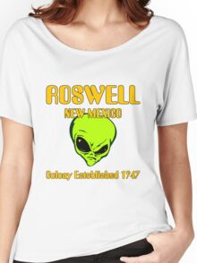 Roswell, New Mexico - Alien Colony Established 1947 Women's Relaxed Fit T-Shirt