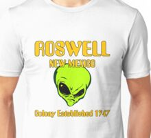 Roswell, New Mexico - Alien Colony Established 1947 Unisex T-Shirt