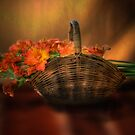 Gladiola - A Basket by Mark Richards