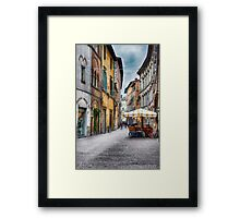 Lucca Framed Print