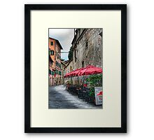 Lucca 4 Framed Print