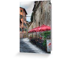 Lucca 4 Greeting Card