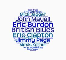 British Blues Artists Unisex T-Shirt