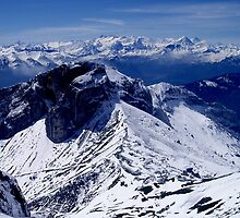 Mt Pilatus, Lucerne (Switzerland) by Christine Oakley