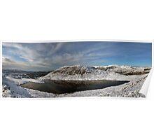 Manod Lake panoramic Poster