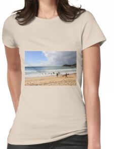 Manly Beach, Australia Womens Fitted T-Shirt