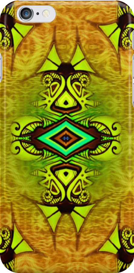 iphone case - abstract 011 by MelDavies