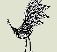 Peacock Dance 2 by Thecla Correya