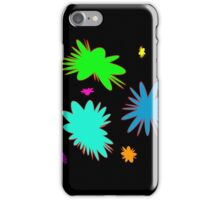 Colorful Rounded Stars, abstract iPhone Case/Skin