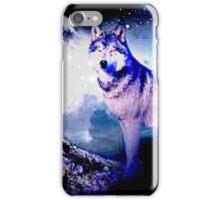 Wolf in the dark iPhone Case/Skin