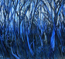 in the blue forest by glennbrady
