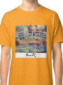 Monet - Japanese Bridge Classic T-Shirt