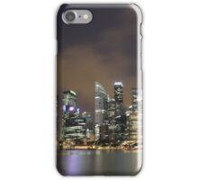 a sprawling Singapore landscape iPhone Case/Skin
