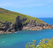 Cornwall Coastal View by rumisw