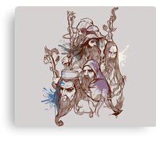 Wizards Canvas Print