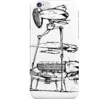 Alien War Machines iPhone Case/Skin