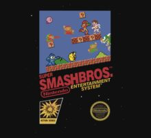 "Super Smash Bros. ""Retrofied"" by MopOfVirtue"