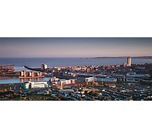 Swansea city south Wales Photographic Print