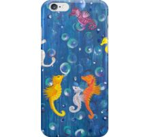 Sea Horse abstract iPhone Case/Skin