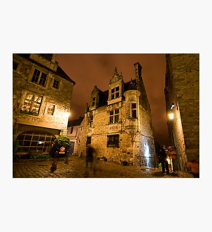 Le Mans At Night Photographic Print