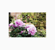 Pink flowers of Peony Unisex T-Shirt