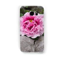 Peony on the Rocks - the Marvels of Spring Samsung Galaxy Case/Skin