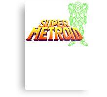 Super Samus Metal Print