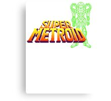 Super Samus Canvas Print