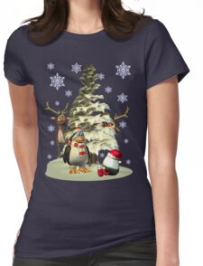 Looking for Santa.. tee shirt Womens Fitted T-Shirt
