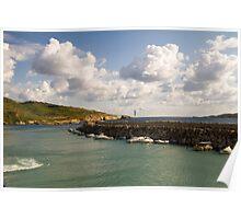 Entering Gozo Harbour Poster