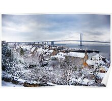 South Queensferry in the Snow Poster