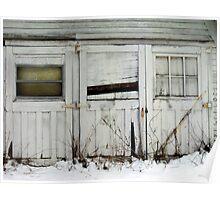 Broken Barn Doors Poster