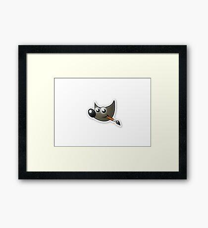 Gimp Framed Print