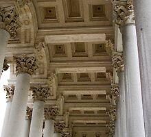 St. Pauls Basilica Columns,  by Michelle Lia