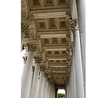 St. Pauls Basilica Columns,  Photographic Print