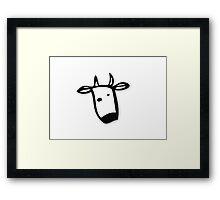 Gentoo linux Framed Print