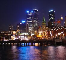 Sydney at Night by Michelle Lia