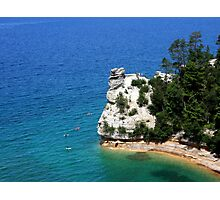 Pictured Rocks National Shore - Michigan Photographic Print