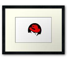 Red Hat linux Framed Print